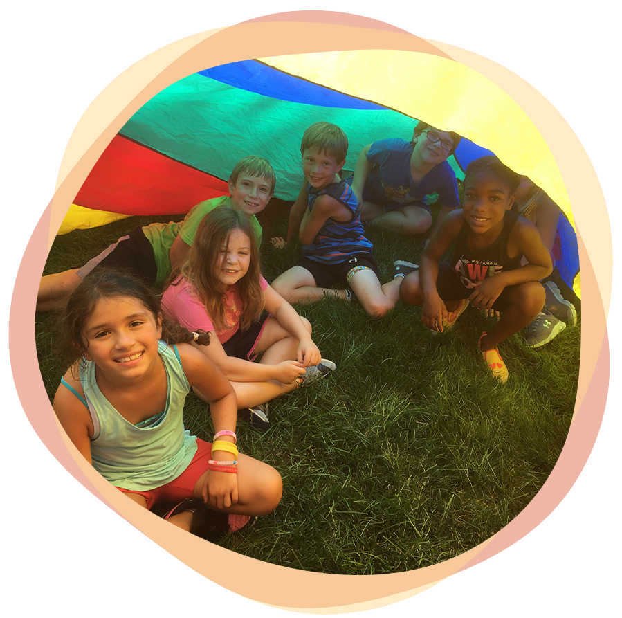 Campers at Caravel Day Camp