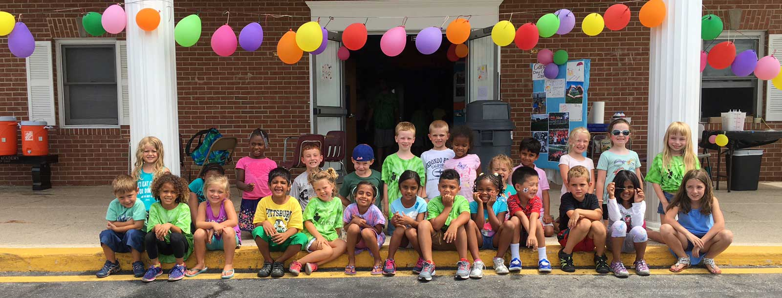 Campers after Color Wars | Caravel Day Camp